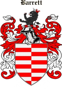 BARRATT family crest