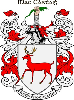 CARTHY family crest