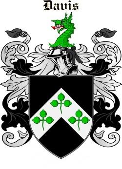 DAVIS family crest