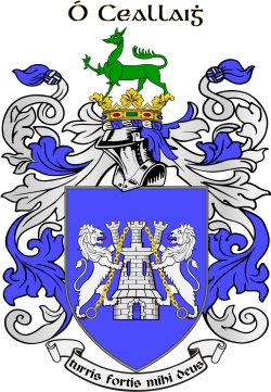 KELLIE family crest