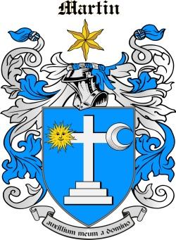 MARTIN family crest