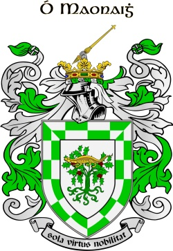 Meaney family crest