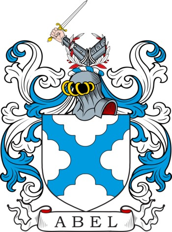 ABEL family crest
