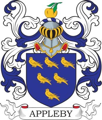 APPLEBY family crest