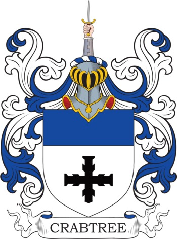 CRABTREE family crest