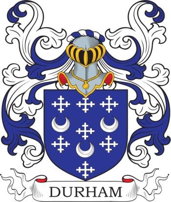 DURHAM family crest