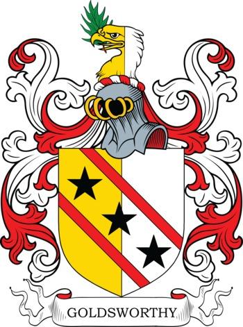 GOLDSWORTHY family crest