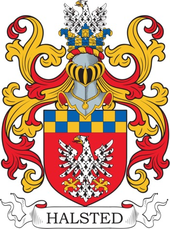 HALSTED family crest