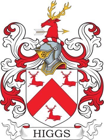 HIGGS family crest