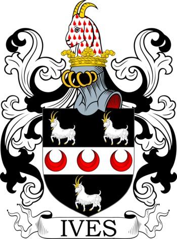 IVES family crest