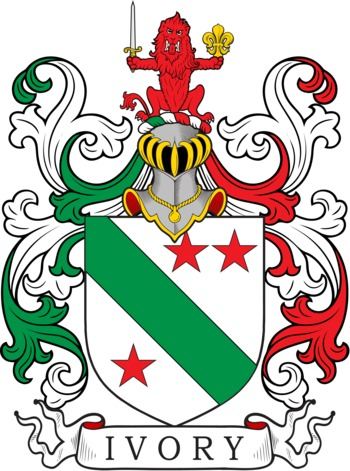 IVORY family crest
