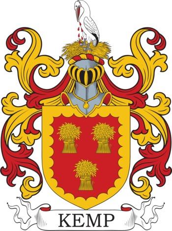 KEMP family crest