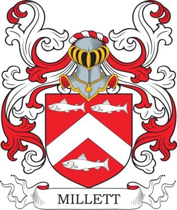 MILLETT family crest