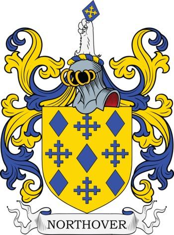 NORTHOVER family crest