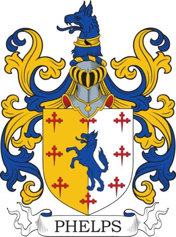 PHELPS family crest