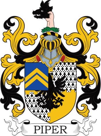 PIPER family crest