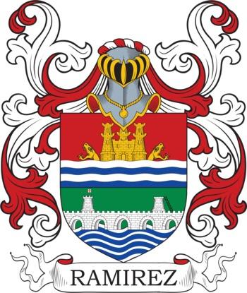 RAMIREZ family crest