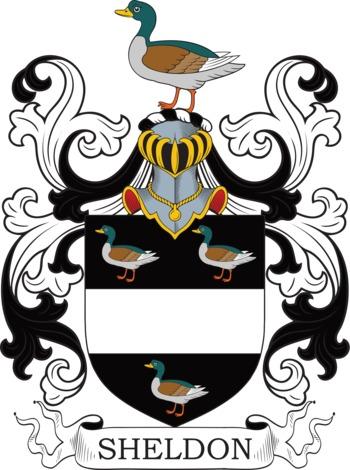 SHELDON family crest