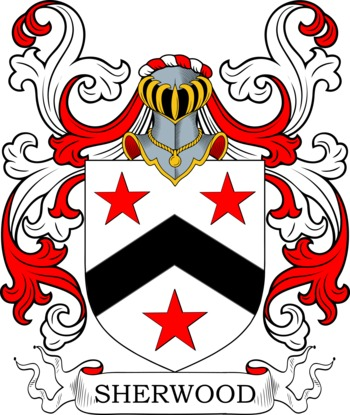 SHERWOOD family crest
