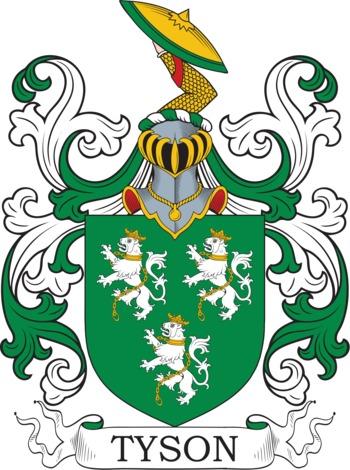 TYSON family crest