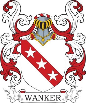 WANKER family crest