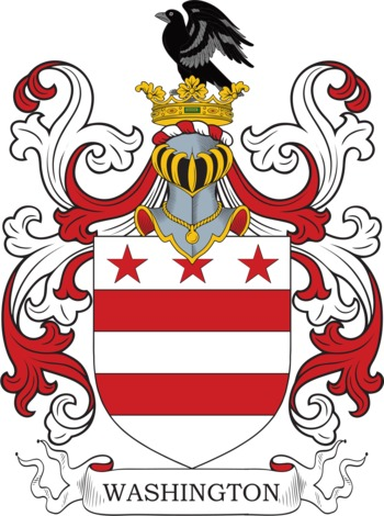 WASHINGTON family crest