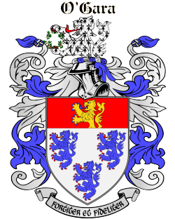 O'GARA family crest