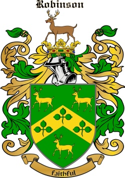 Robeson family crest