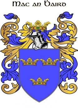 WARD family crest